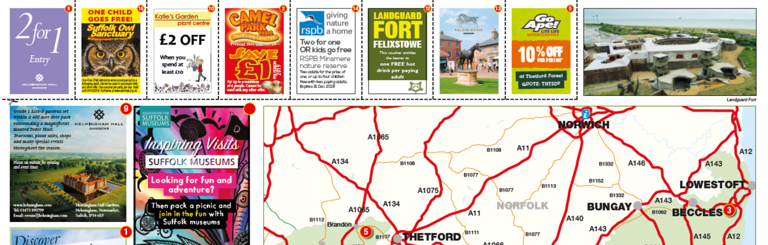 Suffolk: Things to see & do - TIC Topup